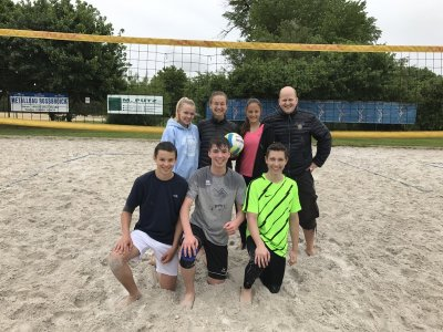 Beachvolleyball Bezirksrunde